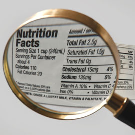 Reading Nutrition Labels after Bariatric Surgery